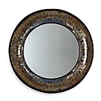 Two's Company® Tozai™ Gold Mosaic Round Wall Mirror