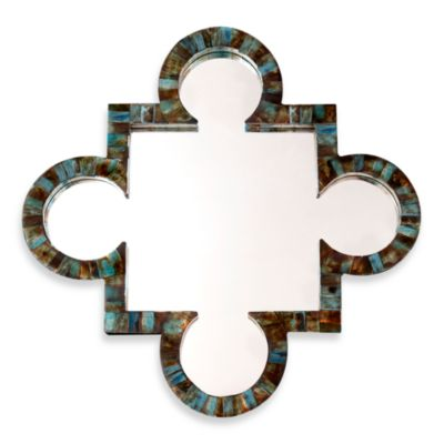 Two's Company® Verdigris Wall Mirror