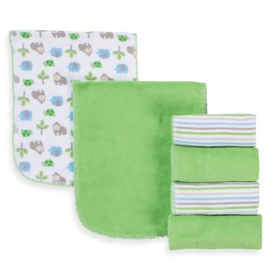 Gerber® Terry Burp Cloths 6-Pack in Blue/White