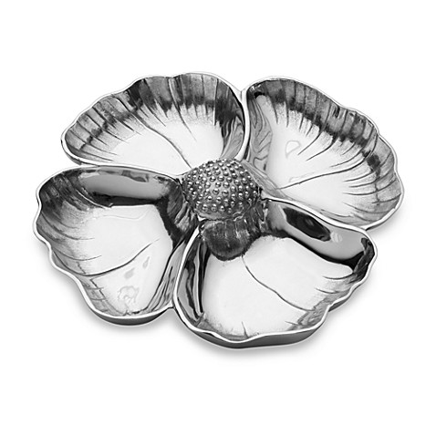 Wilton Armetale® Garden Art Rose Divided Tray