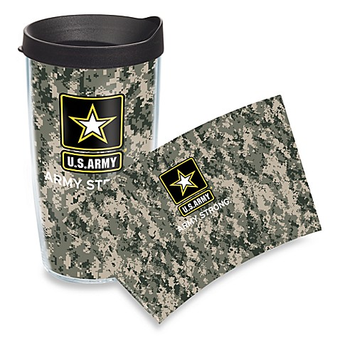 Tervis® U.S. Army™ Camo Wrap 16-Ounce Tumbler with Travel Lid