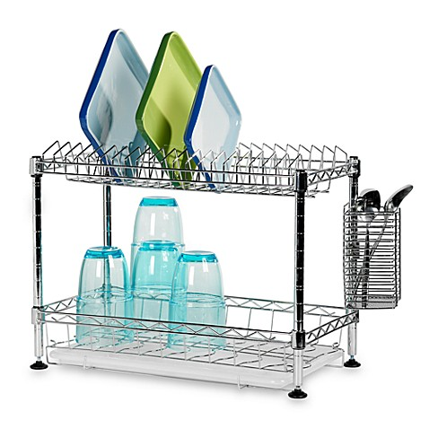 Two Tier Dish Rack Bed Bath And Beyond