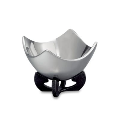 Nambe Anvil™ Scroll 5-Inch Bowl