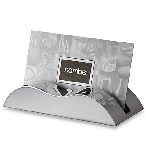 Nambe Wave Business Cardholder