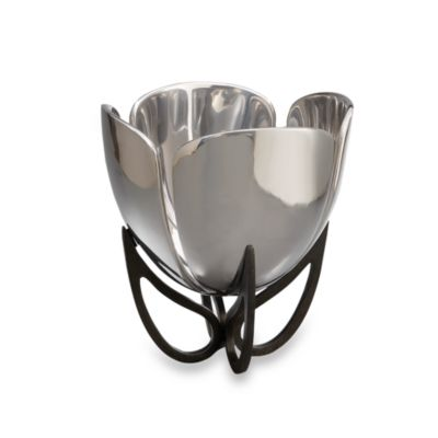 Nambe Anvil Petal Centerpiece Bowl