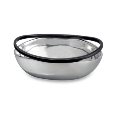 Nambe Anvil Rimmed Bowl