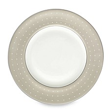 Monique Lhuillier Waterford® Etoile Platinum Accent Plate in Tan