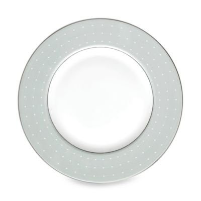 Monique Lhuillier Waterford® Etoile Platinum 9-Inch Blue Accent Plate