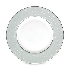 Monique Lhuillier Waterford® Etoile Platinum Accent Plate in Blue