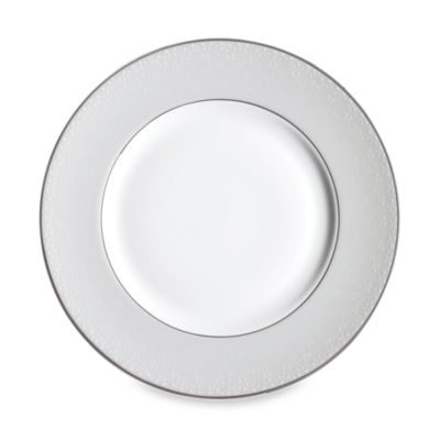 Monique Lhuillier Waterford® Pointe d'esprit 9-Inch Bows Accent Plate