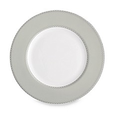 Monique Lhuillier Waterford(R) Dentelle 9-Inch Grey Accent Plate