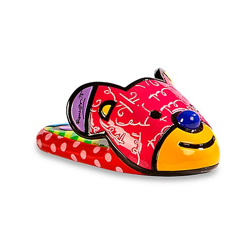 Britto™ by Giftcraft Bear Slipper Figurine
