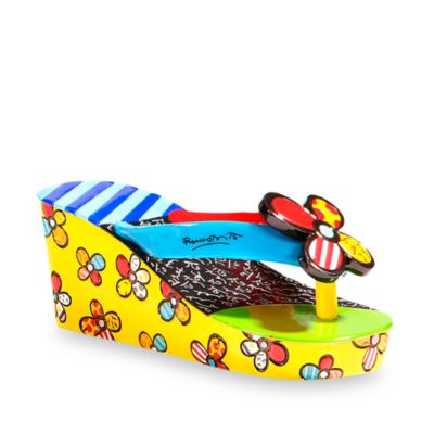 Britto™ by Giftcraft Flip Flop Figurine