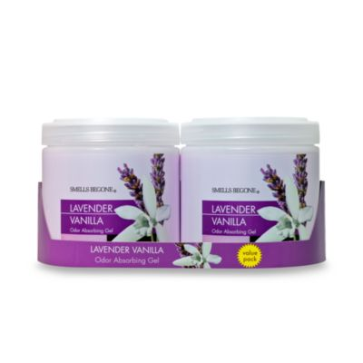 Smells BeGone® 2-Pack Lavender Vanilla Odor Absorbing Gel 15-Ounce Jars
