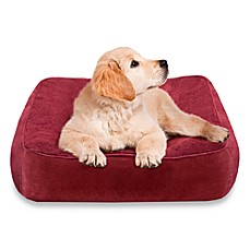 Soft Touch Fifi's Tufted Cushion Pet Bed - Ruby/Ruby