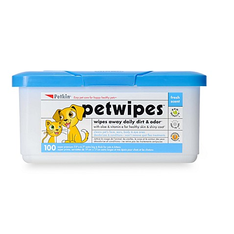 Petk in ® 100-Count PetWipes™