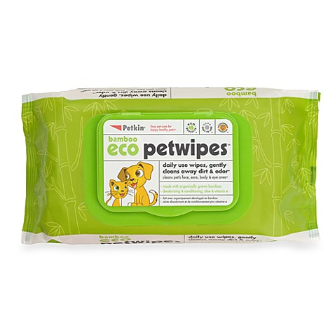 Petkin® 80-Count Cloth PetWipes™