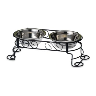 PetRageous® Suki's 3 1/2-Inch H Scroll Feeder
