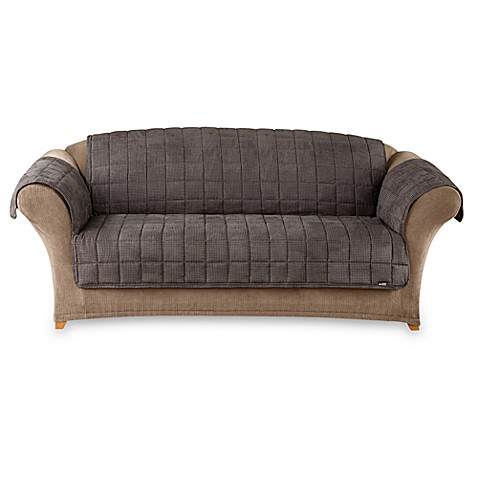 Pet MiniCheckered Furniture Sofa Throw Cover from Bed Bath amp; Beyond