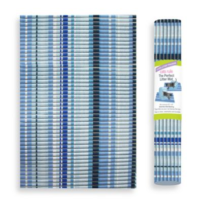 The Perfect Litter Mat in Caribbean Stripe