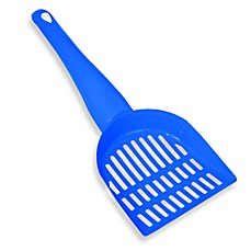 DuraScoop® Mini Steel Cat Litter Scoop - Blue
