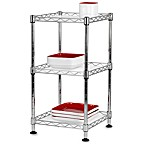 Stax Living Rack with 3 Shelves - 9 3/4-Inch Square