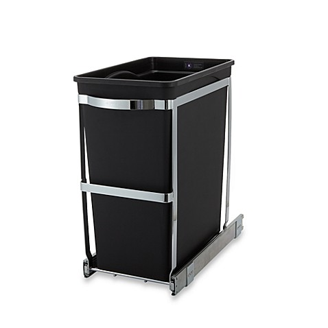simplehuman® 30-Liter Pull-Out Waste Basket