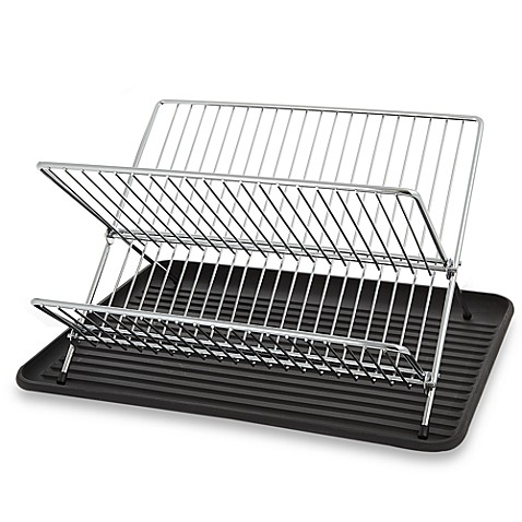 Folding Dish Rack And Drain Board Set Bed Bath Amp Beyond