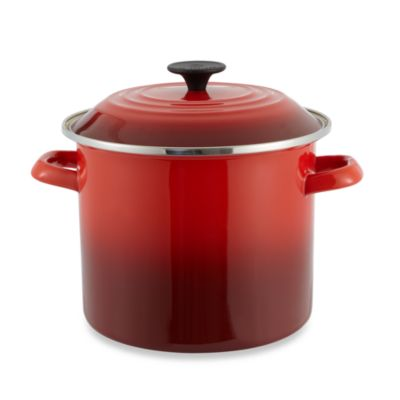Le Creuset® 8 qt. Stock Pot in Red