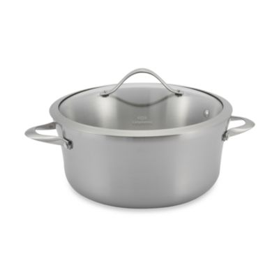 Calphalon® Contemporary Stainless Steel 6.5-Quart Soup Pot & Cover