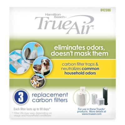 Hamilton Beach® TrueAir™ Plug-Mount™ All-Purpose Replacement Filters (Set of 3)