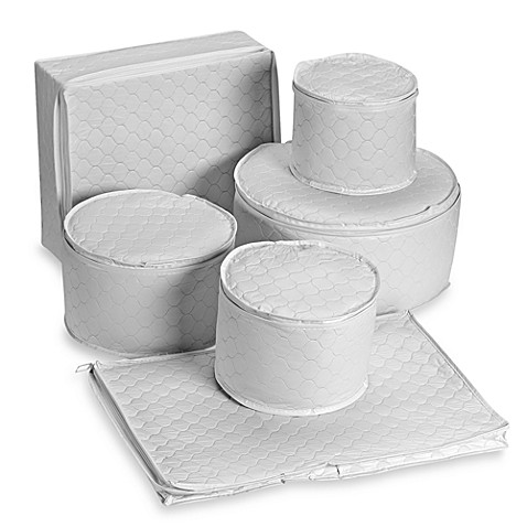 6-Piece Vinyl China Storage Set