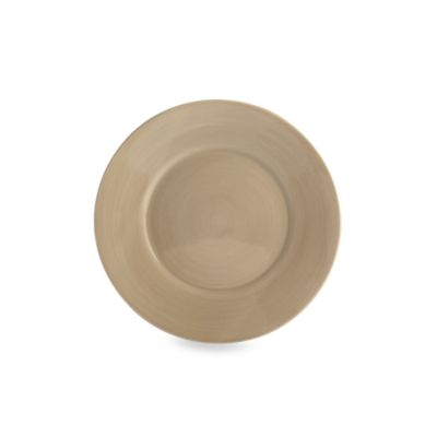 Tabletops Unlimited™ Misto 8 1/2-Inch Round Salad Plate in Light Taupe