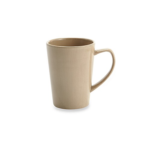 Tabletops Unlimited® Misto 14 oz. Mug in Light Taupe