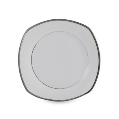 White Square Accent Plate
