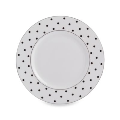 kate spade new york Larabee Road Black™ 9-Inch Accent Plate