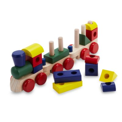 Melissa & Doug® Wooden Stacking Train