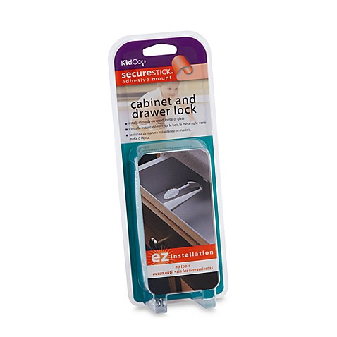 KidCo® Adhesive Cabinet and Drawer Lock