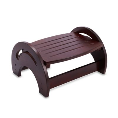 Kidkraft® Cherry Finished Nursing Stool
