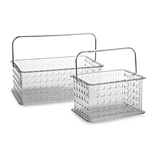 Interdesign® Zia Clear Storage Baskets
