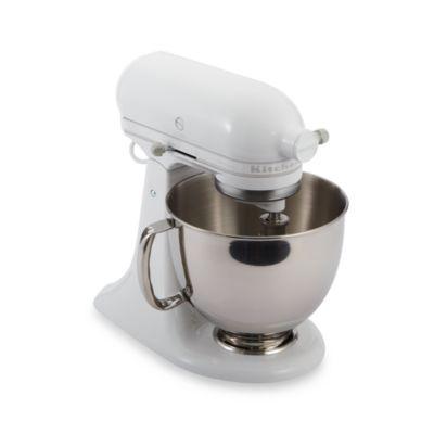 KitchenAid® Artisan® 5 qt. Stand Mixer in White/White