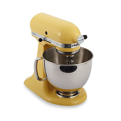 Buy kitchenaid artisan 5 qt stand mixer in majestic yellow from bed bath beyond - Kitchenaid artisan qt stand mixer sale ...