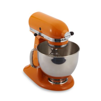 KitchenAid® 5-Quart Artisan™ Stand Mixer in Tangerine