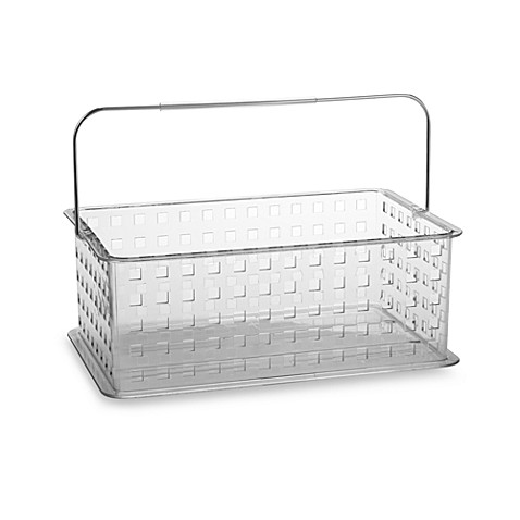 Interdesign® Zia Clear Medium Storage Basket