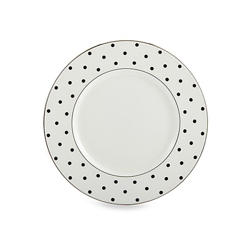 kate spade new york Larabee Road™ Black 9-Inch Accent Plate