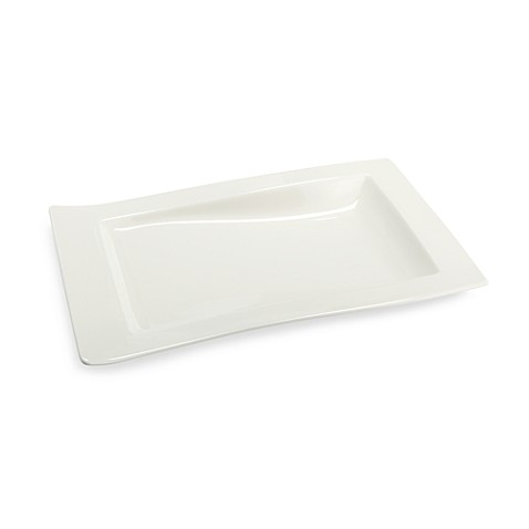 Villeroy & Boch New Wave 12 3/4-Inch x 9 1/2-Inch Gourmet Plate