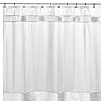 Willow 72-Inch x 72-Inch Fabric Shower Curtain in White