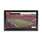 University of Nebraska Gridiron Panoramic Frame