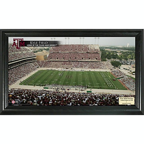 University of Texas A&M Gridiron Panoramic Frame