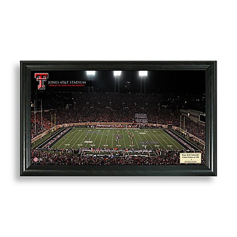 Texas Tech University Gridiron Panoramic Frame